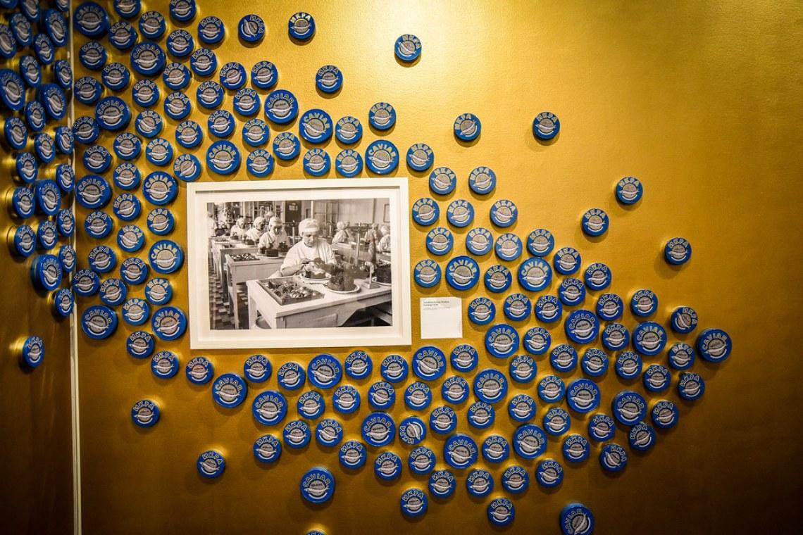 Może kawioru? Anchorage Museum.