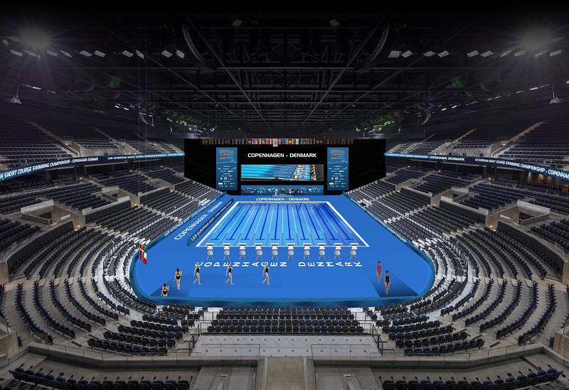 EuroSwim2017 Copenaghen: -3 al via, la Royal Arena è pronta