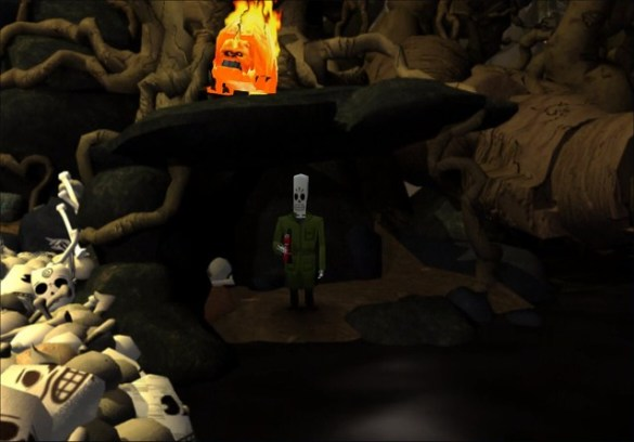 Grim Fandango Remastered - Demon Beaver