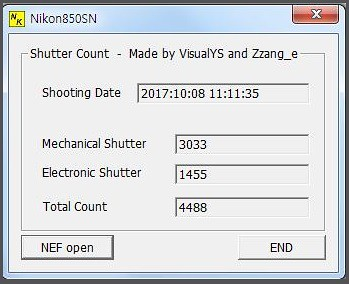 free-program-to-check-the-Nikon-D850-shutter-count