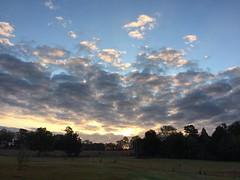 Glorious #sunrise this morning #goodfarmstuff