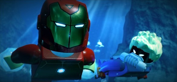 Lego Marvel Super Heroes 2 - Iron Man and Captain Marvel