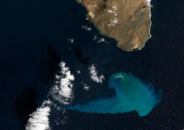 Foto NASA El Hierro