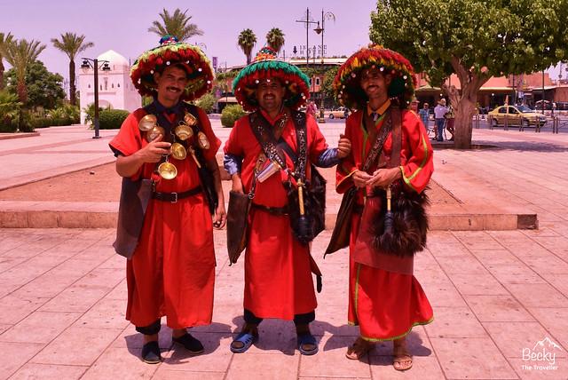 Marrakesh/Marrakech Guide - Marrakesh's Jemaa El Fna Square - Morocco