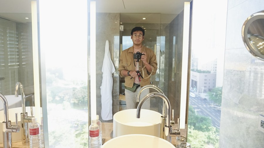 Grand Hyatt Taipei Hotel bathroom (7 of 91)