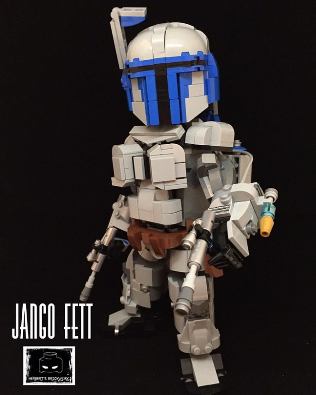 "Legendary Bounty Hunter"" Jango Fett"""