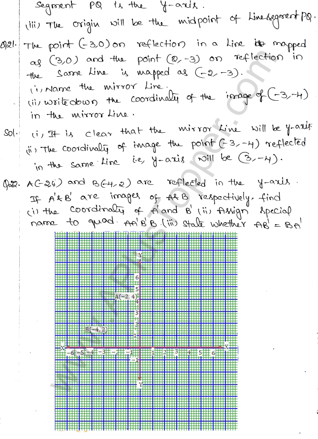 ml-aggarwal-icse-solutions-for-class-10-maths-chapter-10-reflection-11