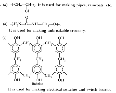 Important Questions for CBSE Class 12 Chemistry - Polymers