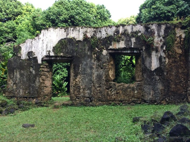 Picture from the Kaniakapupu Ruins