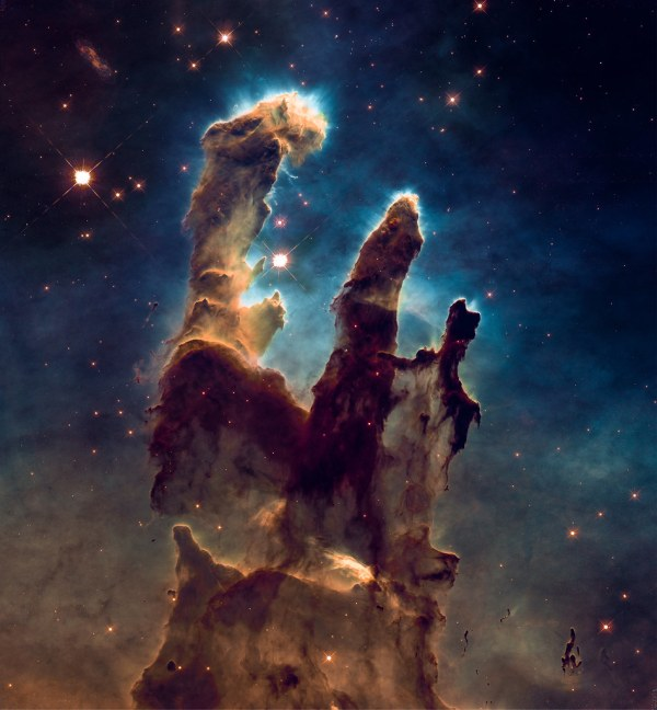 Open source Eagle Nebula data from Hubble Heritage Share