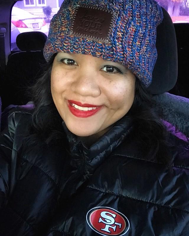me in my new Niner jacket