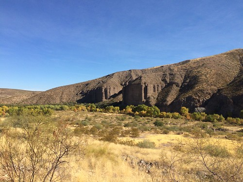 Gila Box Riverview Campground the fortress