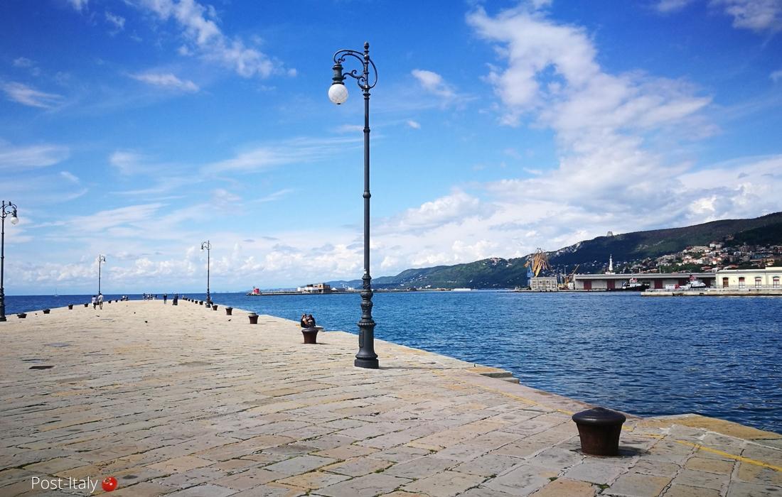 Molo Audace em Trieste