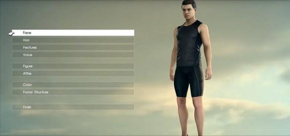 Final Fantasy XV - Comrades Character Creation