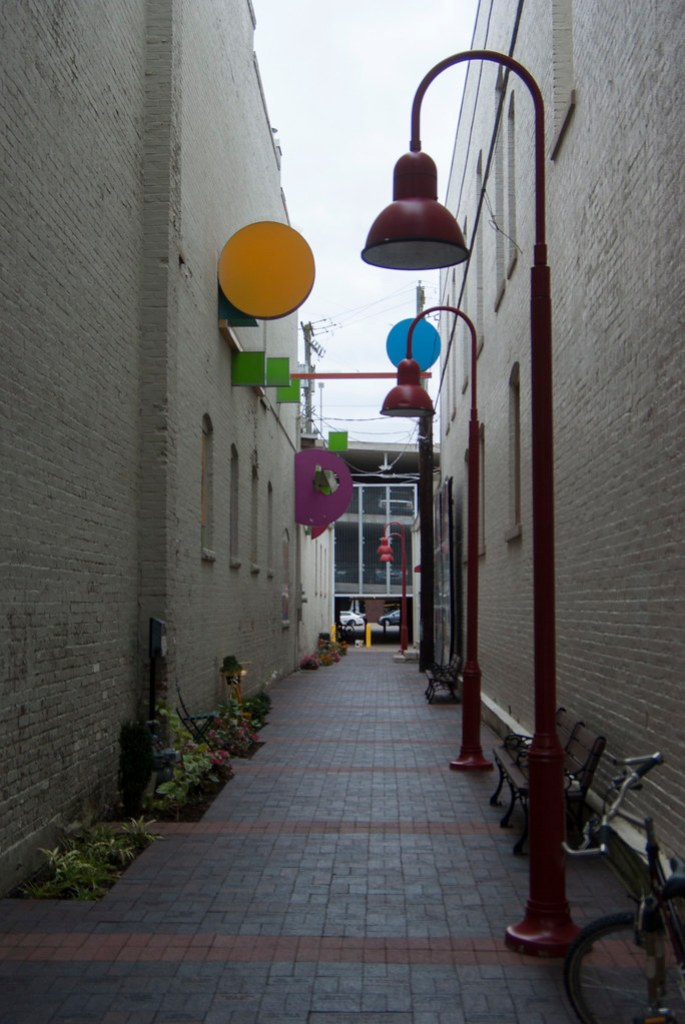 Alley in Columbus
