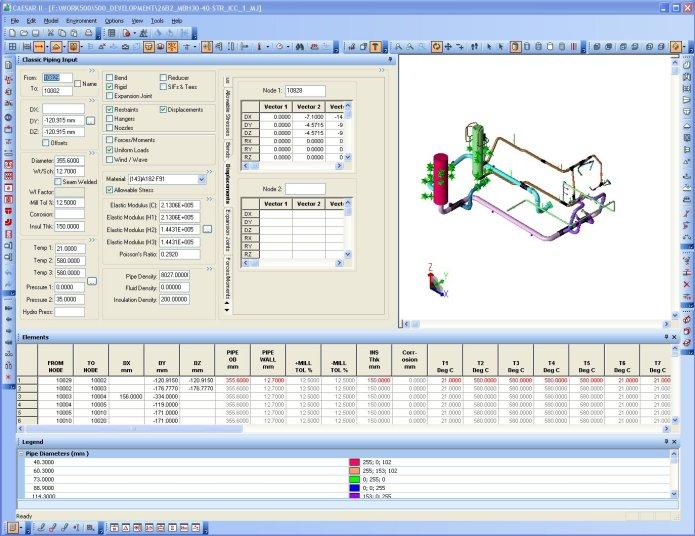 Working with Intergraph CAESAR II 2018 x86 x64 full crack