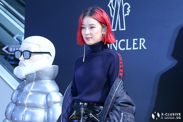 Irene Kim at Moncler in Hong Kong Flagship Opening