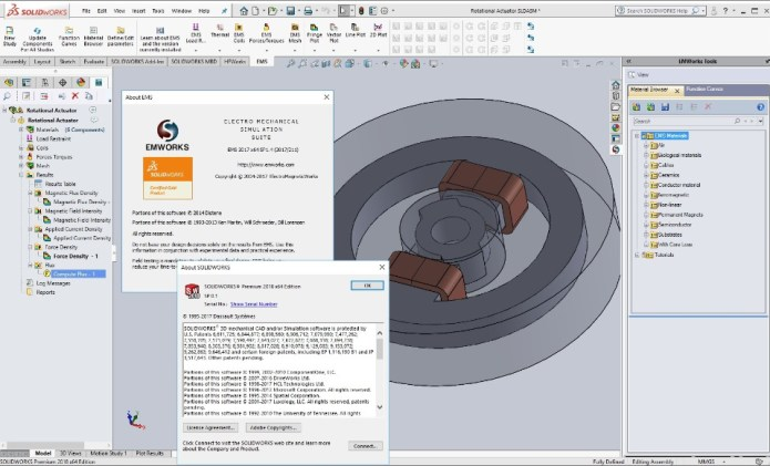 Working with EMWorks EMS 2017 SP1.4 for SolidWorks 2011-2018 Win64 full