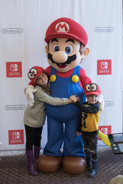 Annie, Mario, and James