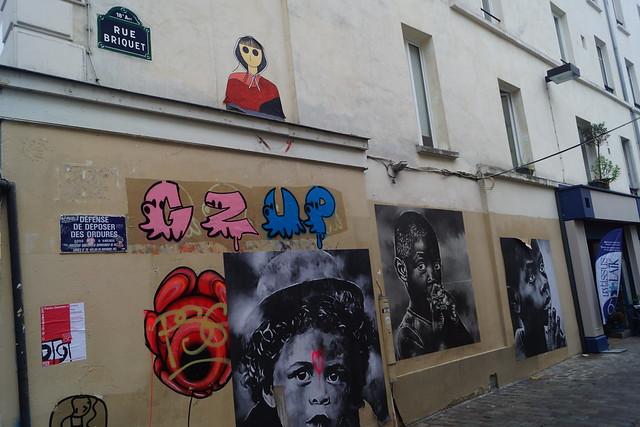 Париж - граффити
