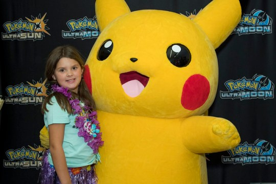 Annie and Pikachu