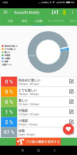 Notify & Fitness for Amazfit レビュー (11)