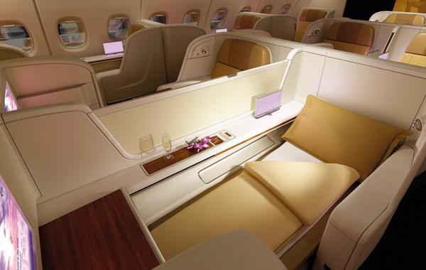 171203 タイ航空A380ロイヤルファーストクラス