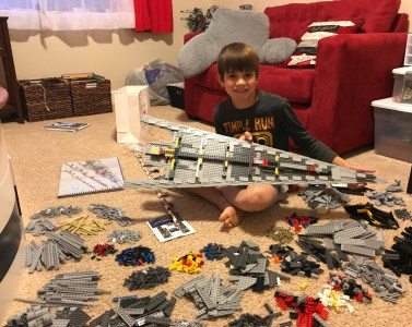 Super Star Destroyer - Lego