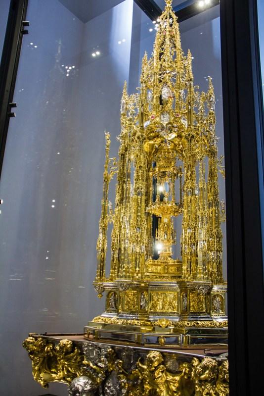 Capilla del Tesoro custodia de Enrique de Arfe Catedral de Toledo 01