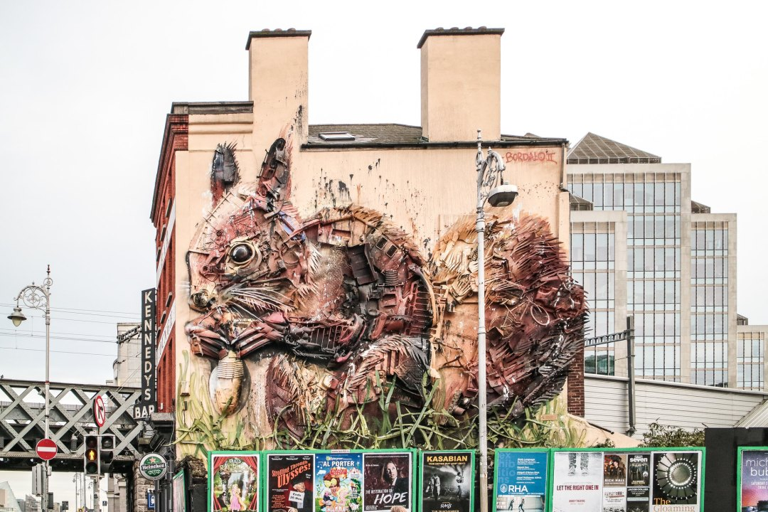 Red Squirrel, Bordalo II