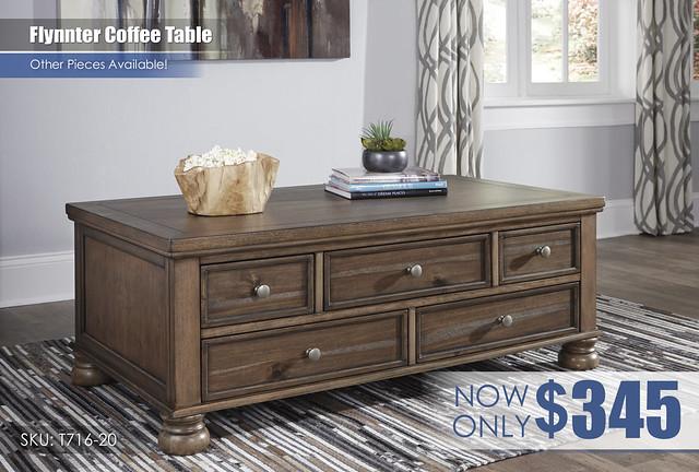 Flynnter Coffee Table_T716-20