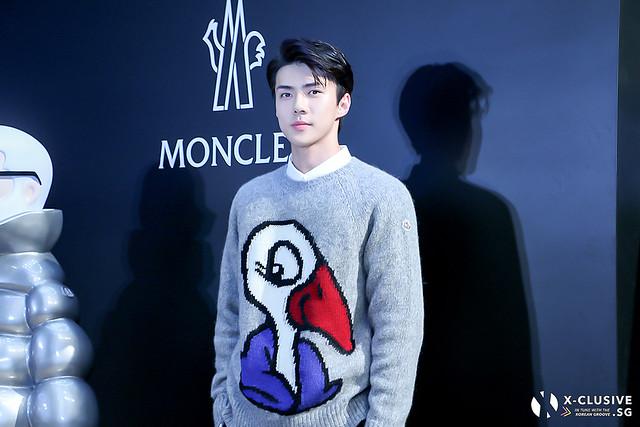 Sehun for Moncler Hong Kong Flagship Store Opening