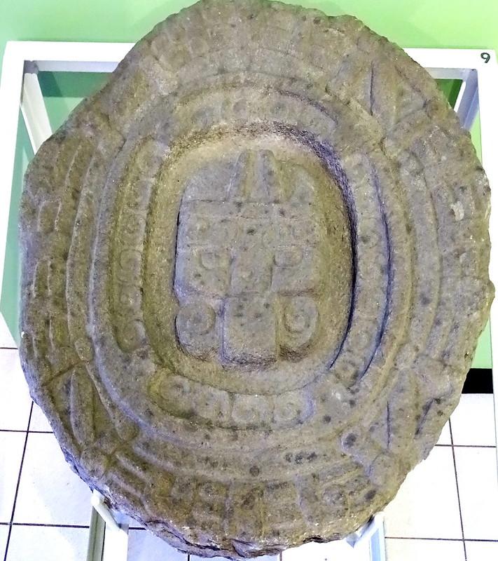 Museo Popol Vuh Ha'al K'uh dios de la lluvia Ciudad de Guatemala