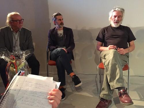 Peter Löfqvist, Erik Wallsten och Andrew Jones