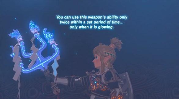 Die Legende von Zelda Atem der Wildnis - Göttliche Waffe