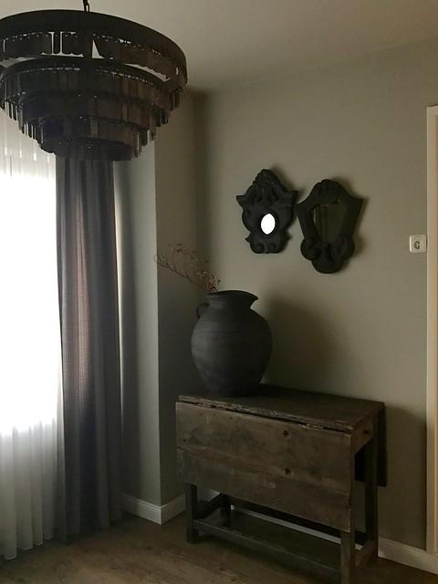 Hoffz tafel kruik spiegels Hoffz lamp