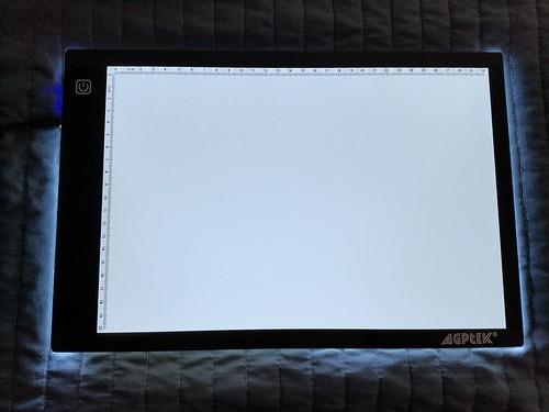 AGPtek LED Artcraft Tracing Light Pad