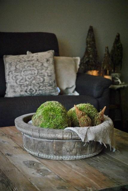 Salontafel houten olijfbak