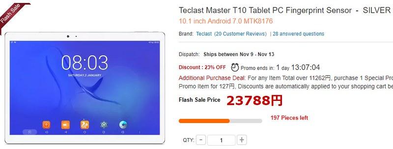 Teclast Master T10 現在価格