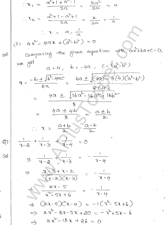 ml-aggarwal-icse-solutions-for-class-10-maths-chapter-5-quadratic-equations-in-one-variable-21