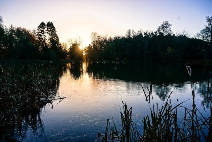 Sunday Sunrise - Wroxton Abbey