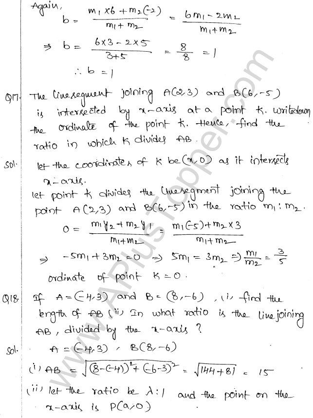 ml-aggarwal-icse-solutions-for-class-10-maths-chapter-11-section-formula-23