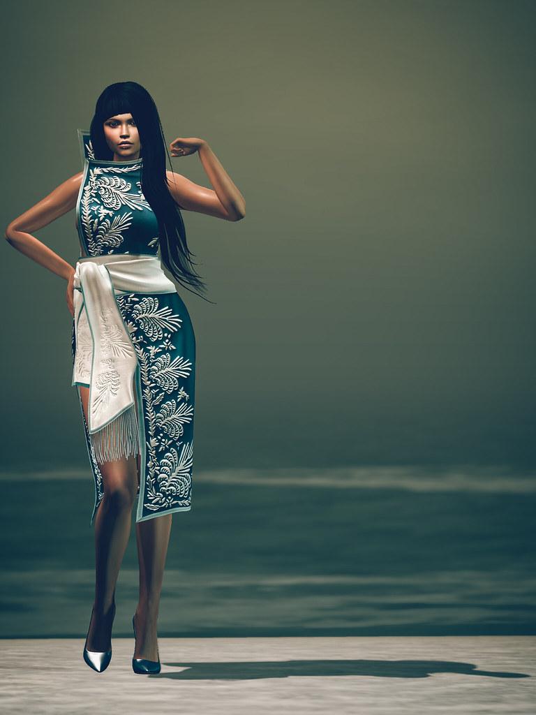 Misa Kimono by United Colors @ Kustom9