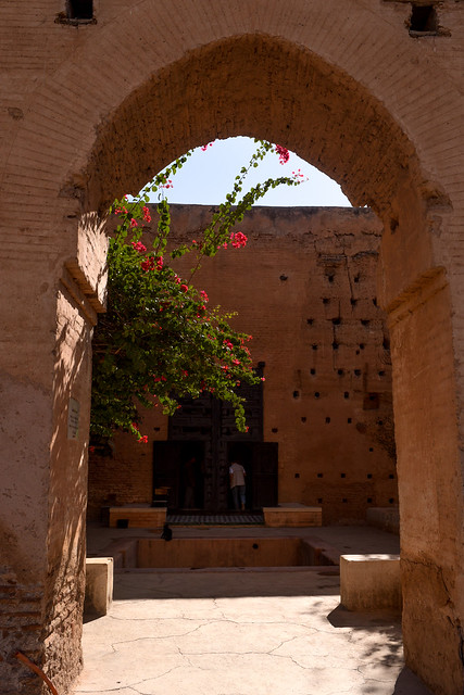 El Badii Palace Doorway