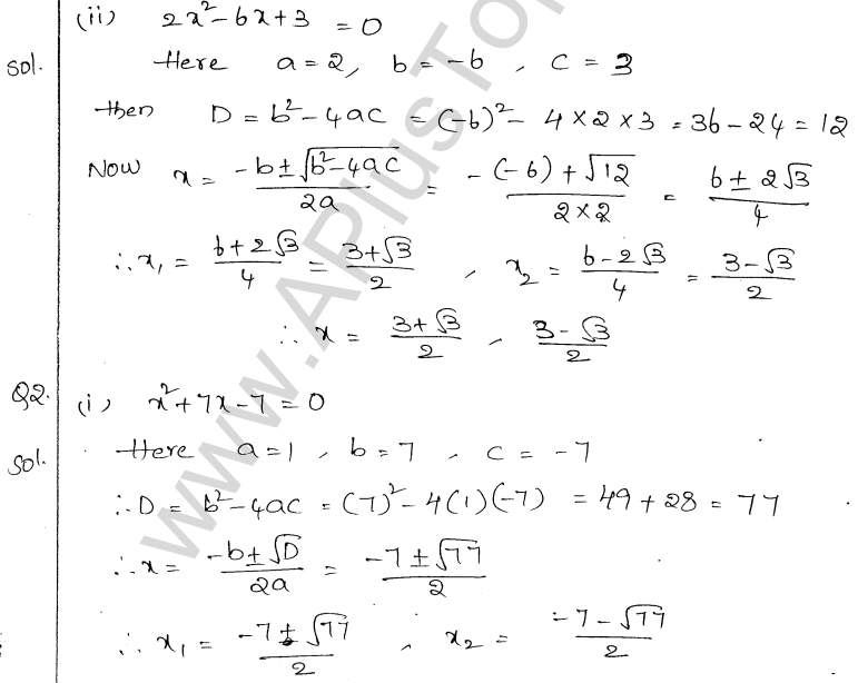 ml-aggarwal-icse-solutions-for-class-10-maths-chapter-5-quadratic-equations-in-one-variable-17-1
