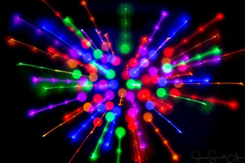 Bokeh Explosion by Jeanie Sumrall-Ajero