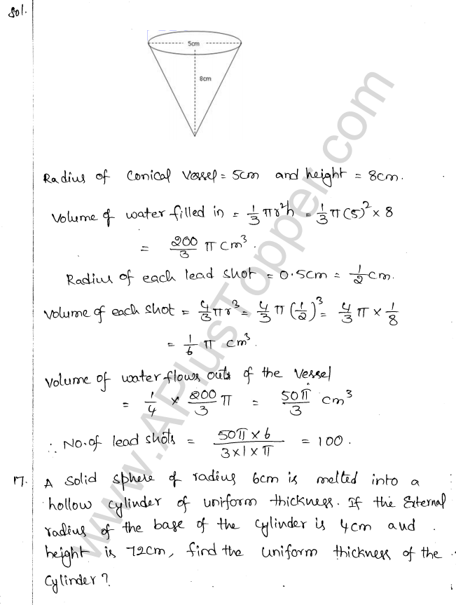 ml-aggarwal-icse-solutions-for-class-10-maths-ch-17-Mensuration-73
