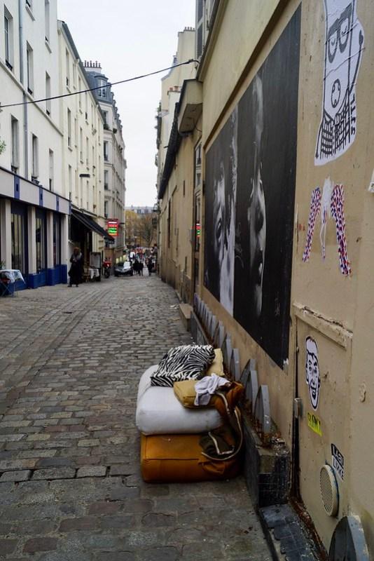 Париж, место жительства бомжа
