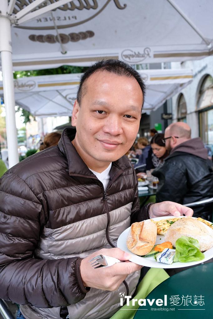《法蘭克福早午餐》Cafe Karin:歌德故居旁高評價人氣餐廳