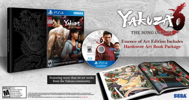 Yakuza 6: The Song of Life – Essence of Art Edition